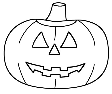 cartoon pumpkin coloring pages cartoon halloween pumpkins cliparts co