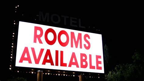 rooms  neon sign hotel vacancy board guest