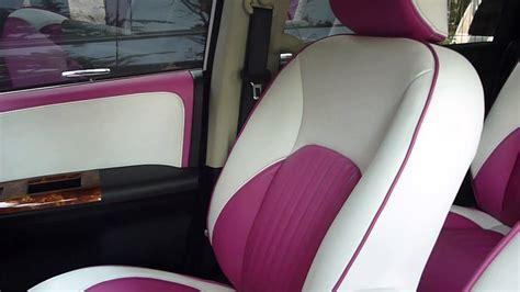 Karpet Max Warna modif jok mobil honda freed warna putih dan ungu