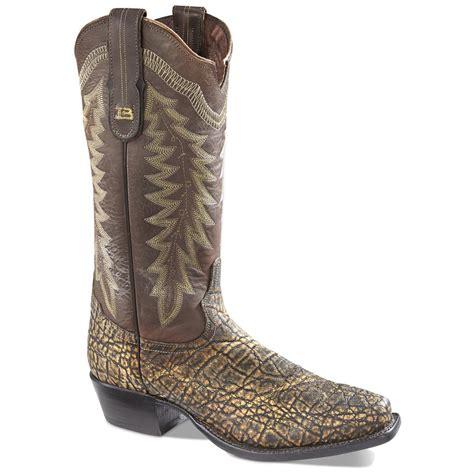 elephant boots tony lama black label elephant cowboy boots 654139