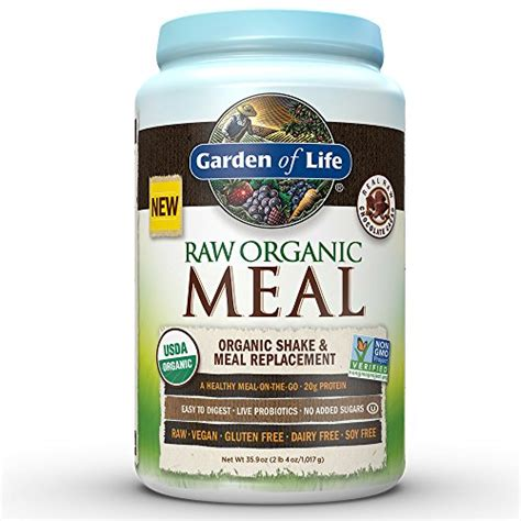 Garden Of Vegan Protein Garden Of Meal Replacement Organic Plant Based