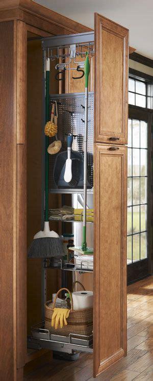 cleaning supply storage closet deep simplify  life