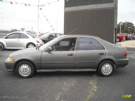 1995 honda civic colors 1995 thunder gray honda civic lx sedan 23191351