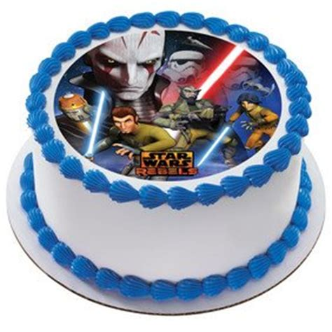 Wars Edible Cake Decorations by Wars Rebels Inquisitor Edible Icing Image