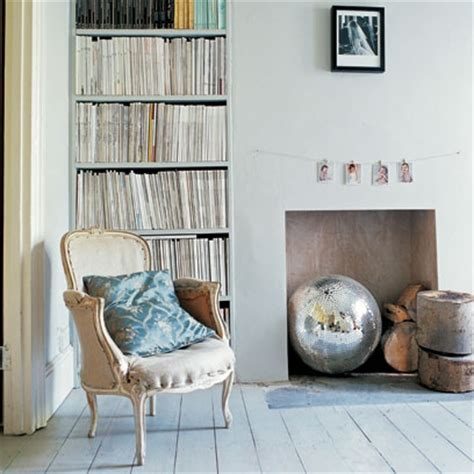 Disused Fireplace Ideas by Displaying Books