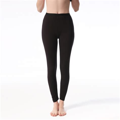 Modal Duvet Ladies Modal Thermal Long Johns Black Jasminesilk Com