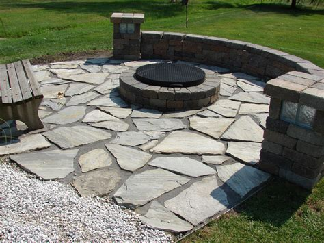 diy flagstone patio ideas 17555