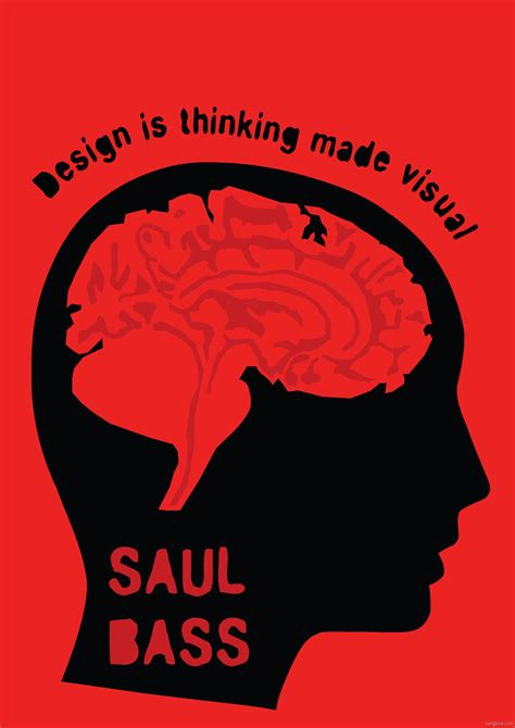 design is thinking made visual poster saul bass vangeva