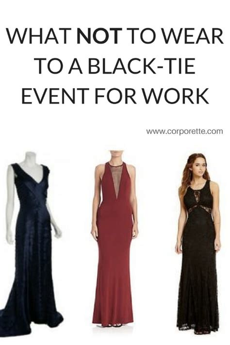 what should i wear to a cocktail what not to wear to a black tie event