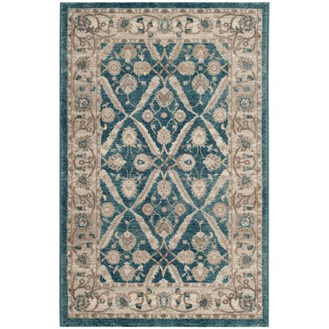 sofia the rug safavieh sofia blue beige 6 ft 7 in x 9 ft 2 in area rug sof378c 6 the home depot