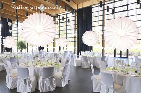 Hochzeitsdeko Saaldekoration by Ballonsupermarkt Onlineshop De Rosette Wei 223 75cm