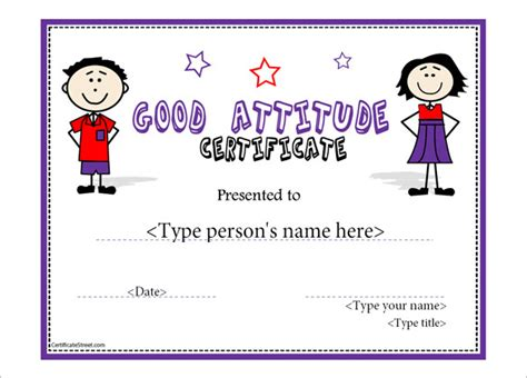 templates for perfect attendance certificate attendance certificate template download free premium