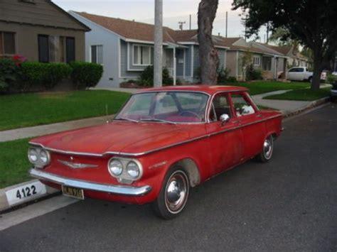 how it works cars 1960 chevrolet corvair user handbook buy used 1960 corvair 4 door in lakewood california united states for us 4 000 00