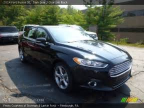 side 2014 ford fusion se charcoal black interior