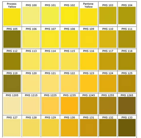 gold color number pms colour chart bongo