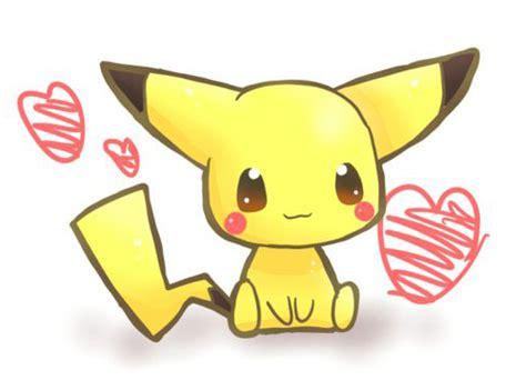 imagenes de goku kawai pikachu kawaii dibujos para dibujar colorear imprimir
