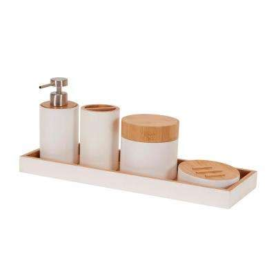 Bathroom Vanity Accessory Sets Bathroom Accessory Sets Bathroom Decor Bath Accessories Bath The Home Depot