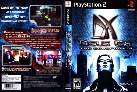 the ex deus ex the conspiracy cover download sony playstation 2