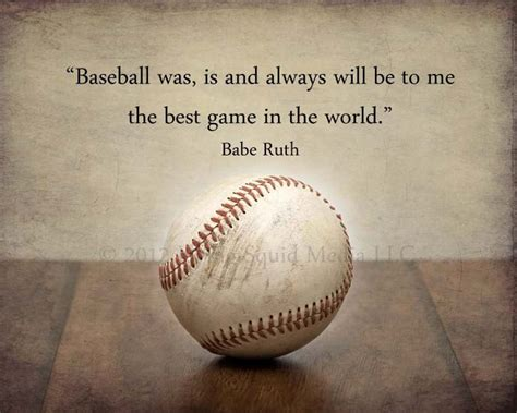 baseball quotes baseball quotes ruth the only person quotesgram