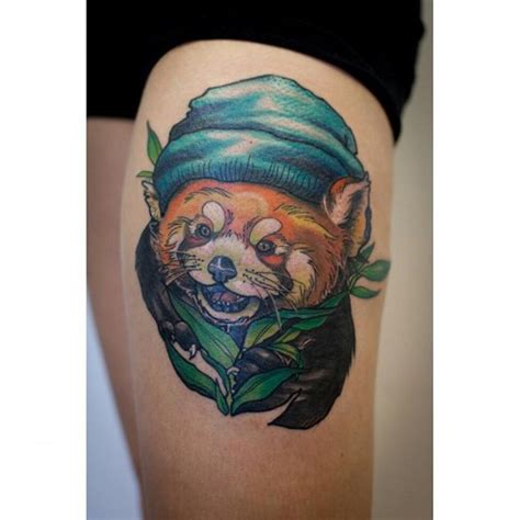 red panda tattoo panda best ideas gallery