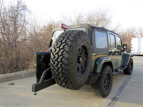 jeep swing away tire carrier rage rear recovery bumper for jeep swing away spare