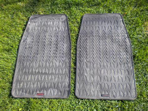 cannon heavy duty rubber car mats in sandown wightbay