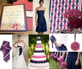 pink and blue wedding colors navy blue and pink bridesmaid dresses style of