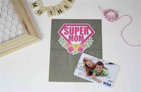 Gift Cards For Mom - free printable mother s day gift card holder for supermom gcg