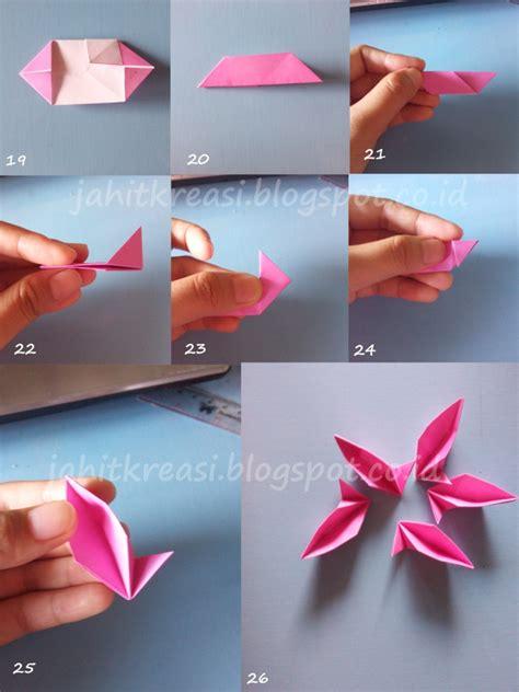 tutorial origami yang mudah tutorial origami bunga yang mudah