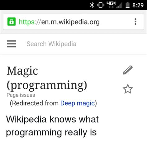Magic Programmer by Lige Https Enmwikipediaorg E Search Magic Programming Page Issues Redirected From
