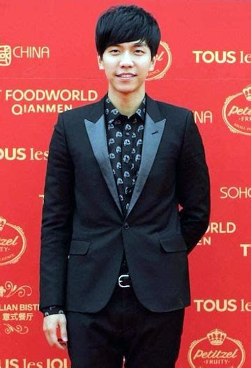 lee seung gi charity lee seung gi suspends work projects after quot severe eye