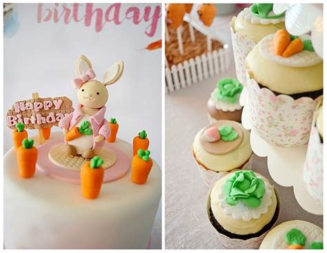 Baby Shower Table Decoration Ideas Kara S Party Ideas Bunny Birthday Party Kara S Party Ideas
