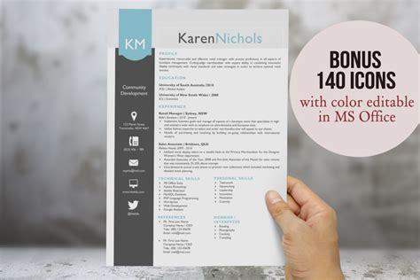 Eye Catching Resumes by Eye Catching Word Resume Design Resume Templates On