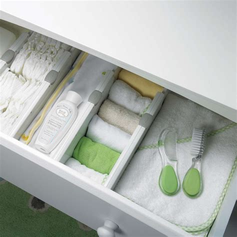 4 quot expandable drawer divider set of 2 oxo