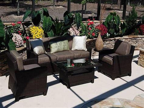 outdoor patio wicker furniture cool resin wicker patio furniture for all weather hgnv