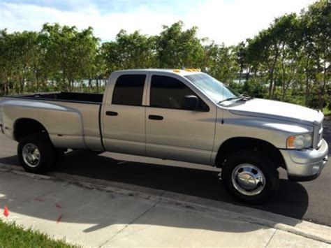 electronic toll collection 2003 dodge ram 2500 parking system sell used 2003 dodge ram 3500 laramie dually crew cab 4x4 cummins turbo diesel in miami florida