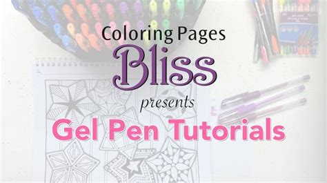 How To Get Gel Pens To Work