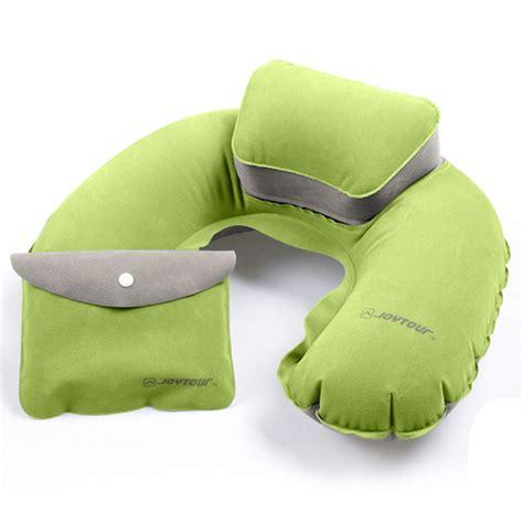 Bantal Leher U Shape Air Up Portable Travel Pillow Neck Pillow U Shape Neck Up Cushion Pvc Flocking Pillow