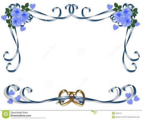 Wedding Border by Blue Wedding Borders Clipart Wedding