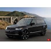 Range Rover Autobiography On 26 Inch Lexani Wheels And Grille