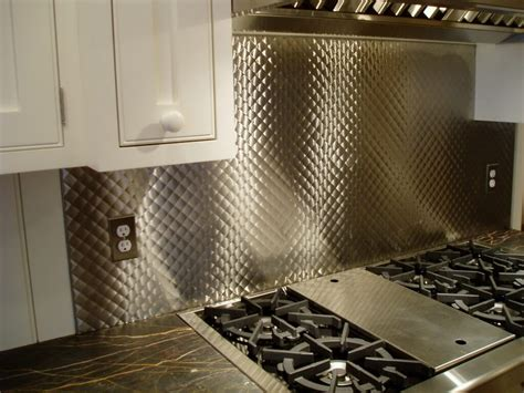 Smartpack Kitchen Design by Stainless Steel Backsplash Behind Range