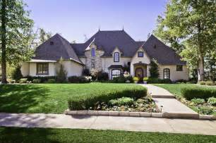 traditional home clear creek country club home traditional exterior