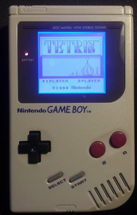gameboy dmg mod nintendo gameboy original dmg 01 with backlight and