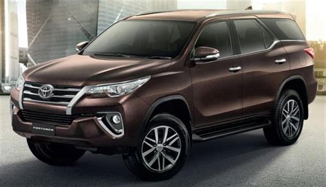New Car Toyota Fortuner New Toyota Fortuner 2016 Expert Review Advantage