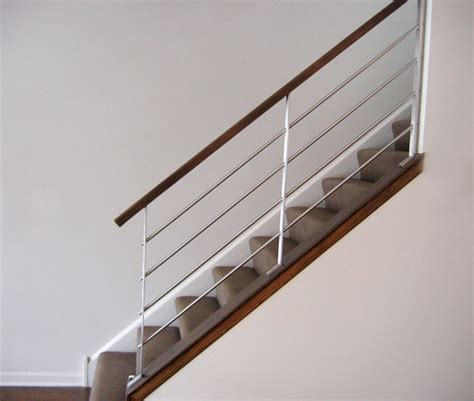 modern banisters and handrails milk design company railings modern staircase by