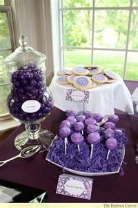 bridal shower decoration ideas purple and silver 19 best images about purple and silver table on purple dessert tables