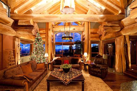 kings home decor rustic holiday d 233 cor tips pioneer log homes of bc blog