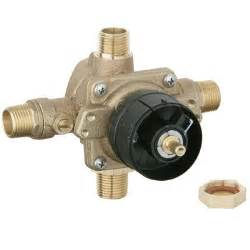 showers pressure balance valves explained