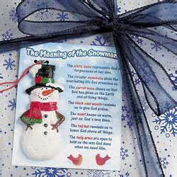 the meaning of the snowman ornament and christmas card