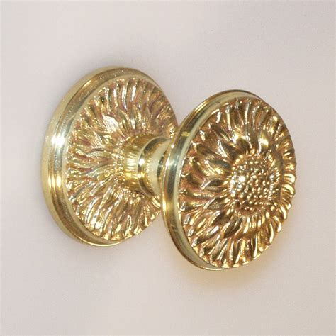 Decorative Glass Door Knobs by Decorative Hardware Studio 5401 Sunflower Door Knob Atg